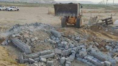 تصویر از رفع تصرف 11هزارمتر مربع اراضی ملی در منطقه سوزا قشم به ارزش 7.700.000.000 ریال