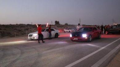 تصویر از نخستین مسابقه ماشین های تیونینگ و آفرود قشم برگزار شد