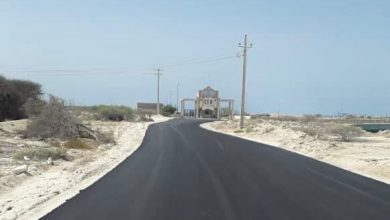 تصویر از مسیر دسترسی بندر صیادی سلخ با 7.8 میلیارد ریال اعتبار آسفالت شد