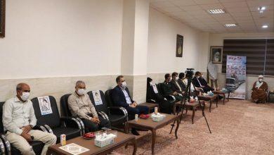 تصویر از مراسم تجلیل از آزادگان سرافراز جزیره قشم برگزار شد