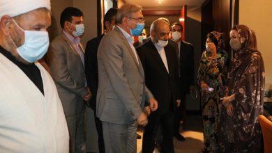 تصویر از بازدید دکتر بانک مشاور رییس جمهور از هتل آوینای قشم