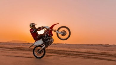 تصویر از ساخت پیست موتورسواری 3هکتاری در منطقه آزاد قشم