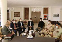 تصویر از نیروهای دریابانی حافظان منافع ملی در آب های جزیره قشم