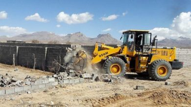 تصویر از رفع تصرف افزون بر ۵۱۰۰۰ مترمربع اراضی ملی در گورزین قشم