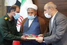 تصویر از فرماندهان نظامی، انتظامی و اطلاعاتی قشم تجلیل شدند