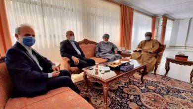 تصویر از دعوت رسمی از سفیر عمان برای سفر به قشم