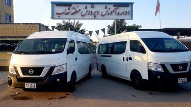 تصویر از اهدای ۲ دستگاه وَن به مدارس شهاب و حرا قشم/ فرزندانی که کار خیر را از پدر به ارث بردهاند