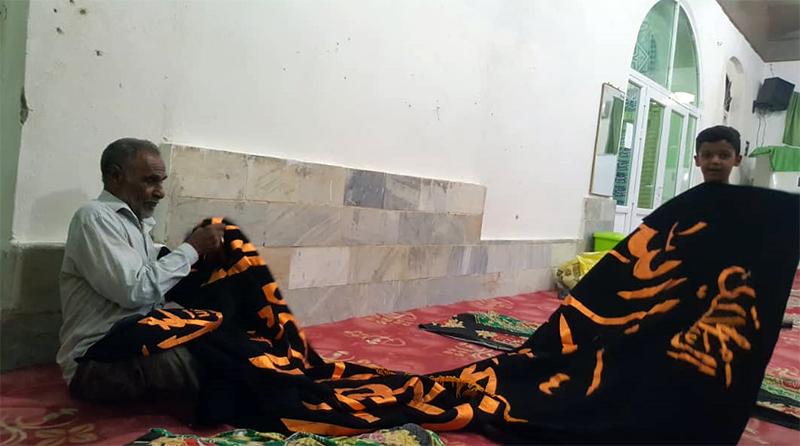 تصویر از مساجد قشم مهیای محرم میشوند
