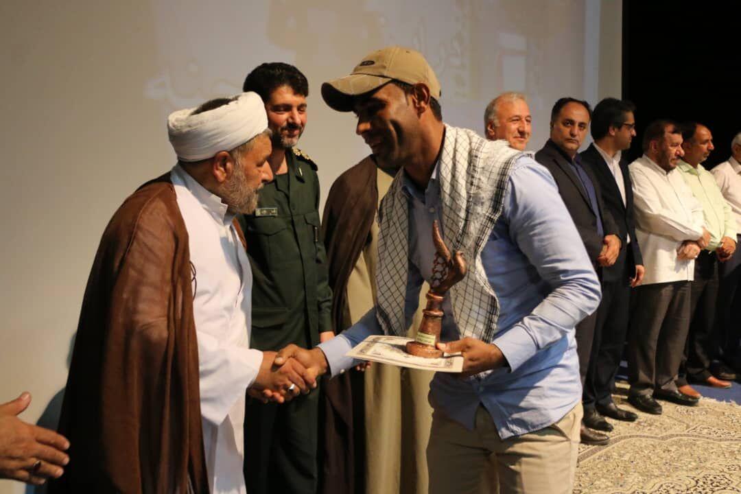 تصویر از سومین جشنواره تئاتر انصار قشم به کار خود پایان داد