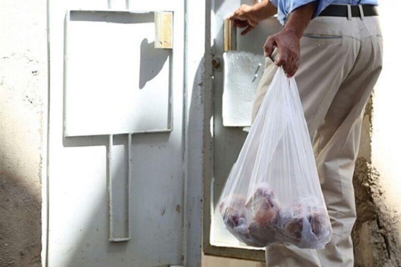 تصویر از توزیع ۵۰ میلیون ریال گوشت قربانی بین نیازمندان قشم