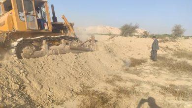 تصویر از ۲۱ هزار مترمربع از اراضی ملی قشم آزاد شد