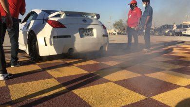 تصویر از مسابقات اتوموبیلرانی اسلالوم همگانی در قشم برگزار شد