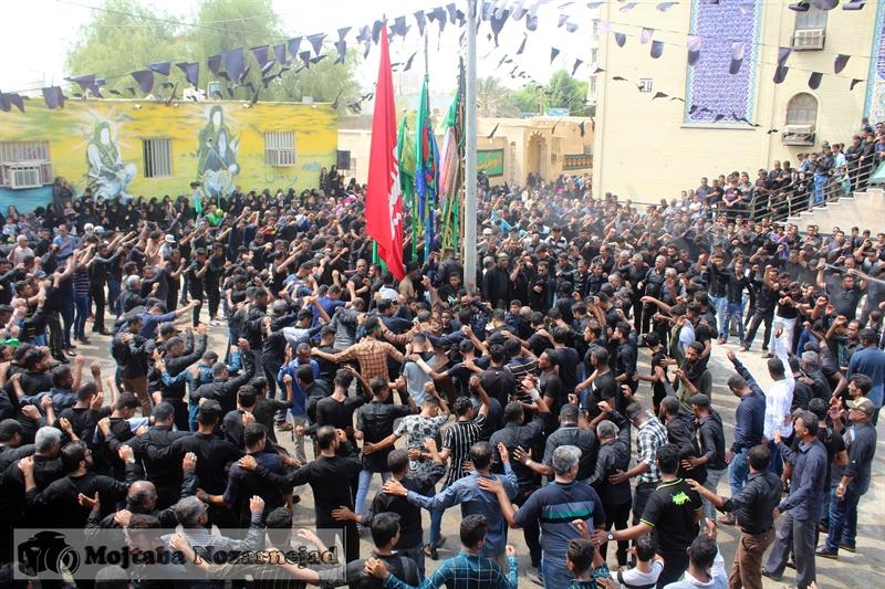 تصویر از تجمع عظیم تاسوعای حسینی در قشم