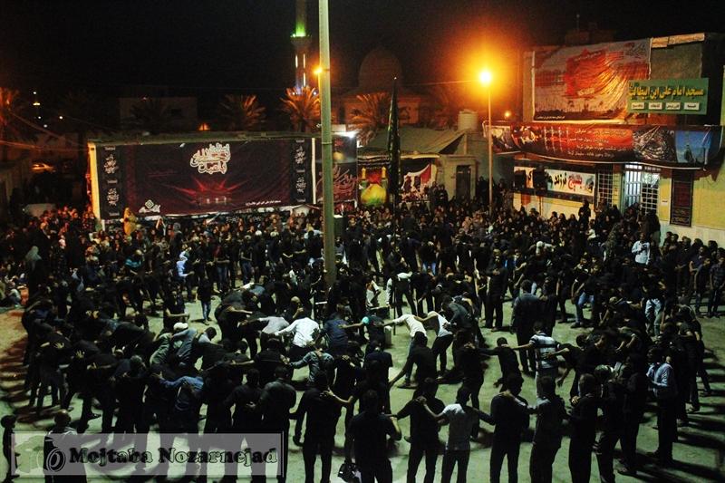 تصویر از گزارش تصویری عزاداری شب عاشورا در قشم
