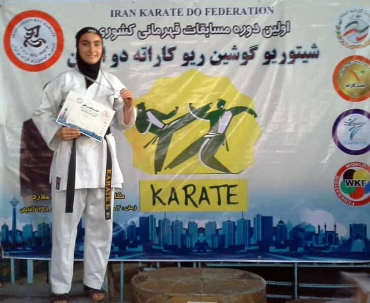 Photo of کسب مقام دوم کاراته کا نوجوان قشمی در نخستین دوره مسابقات قهرمانی سبک شیتوریو کشور